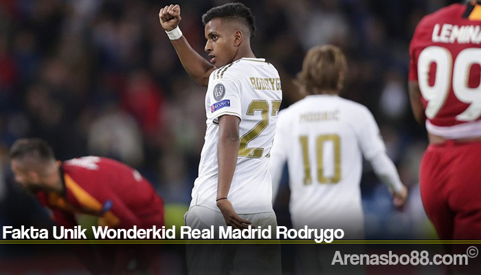 Fakta Unik Wonderkid Real Madrid Rodrygo
